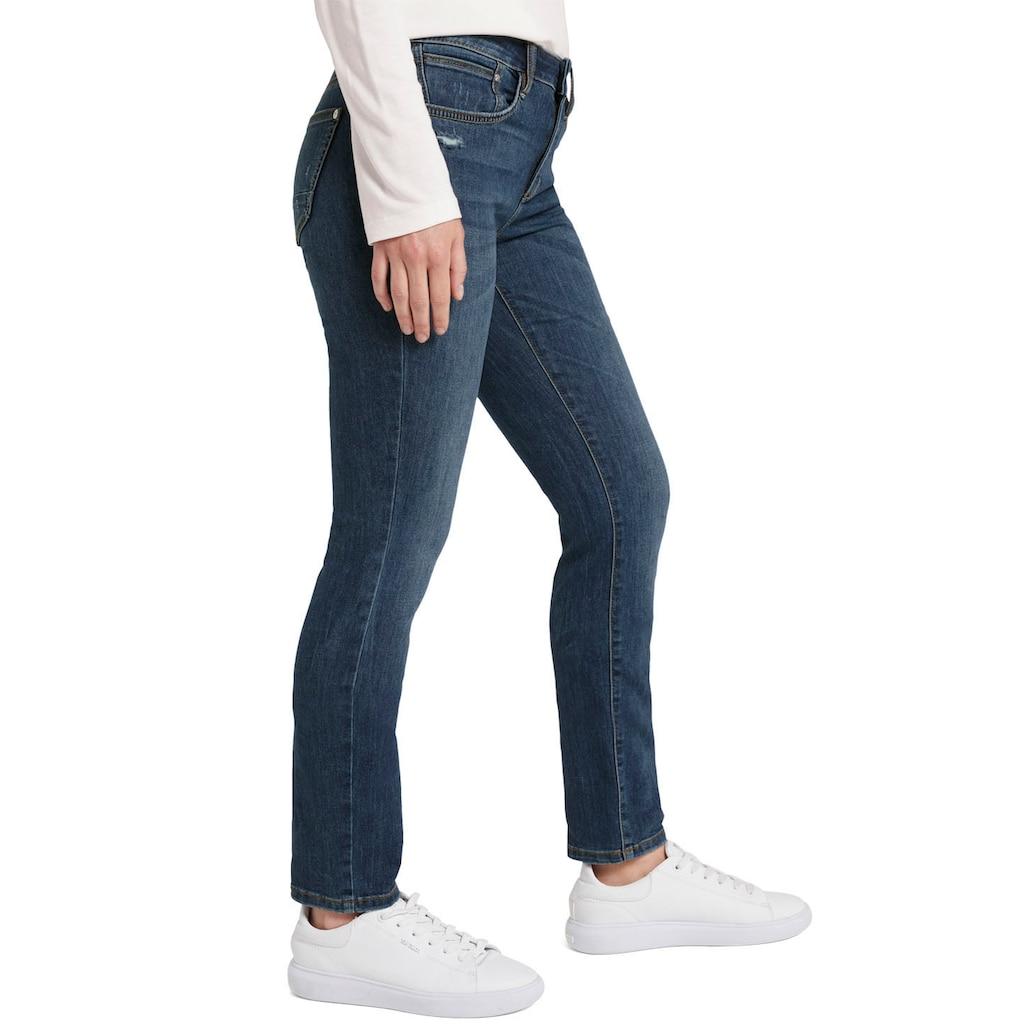 TOM TAILOR Straight-Jeans, mit leichten Used-Effekten