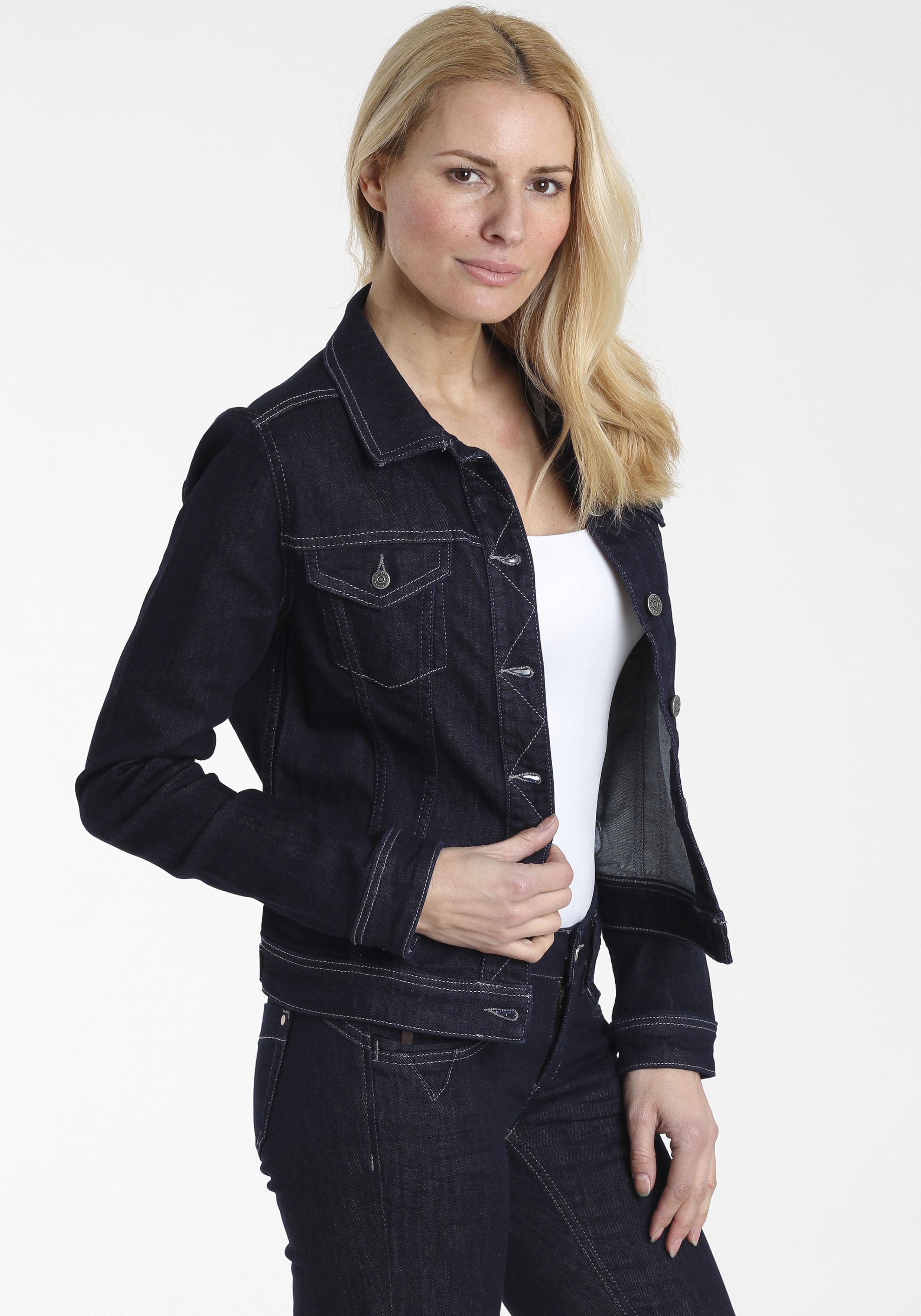 gang -  Jeansjacke MIRA, mit Baumwollstretch Denim für hohen Tragekomfort