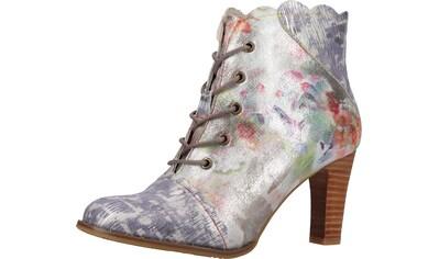 LAURA VITA High-Heel-Stiefelette »Leder/Textil« kaufen