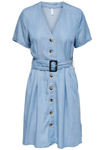 Only Sommerkleid »ONLMARY«, in Denim Optik kaufen
