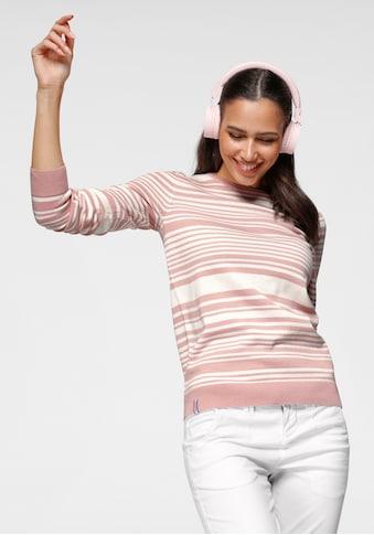 KangaROOS Rundhalspullover, mit minimalistischer Rollkante und modischen... kaufen