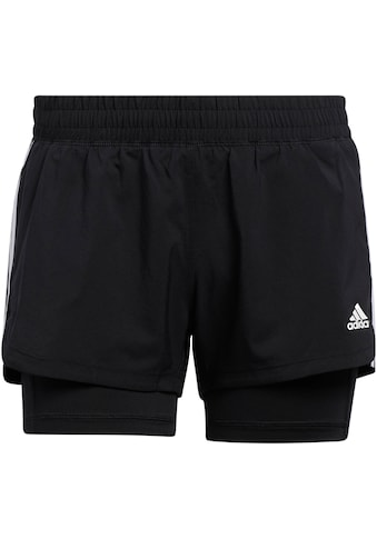 adidas Performance 2-in-1-Shorts »PACER 3-STREIFEN WOVEN TWO-IN-ONE« kaufen