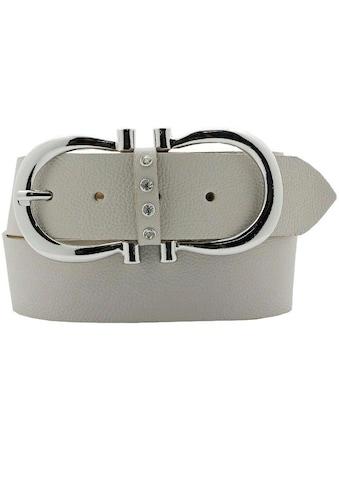 AnnaMatoni Ledergürtel, Mit doppelter Hufeisenschließe kaufen