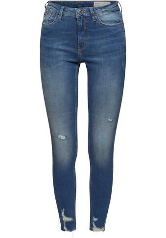 edc by Esprit Boyfriend-Jeans, im Jogger-Stil mit Kordelzug in der Taille und... kaufen
