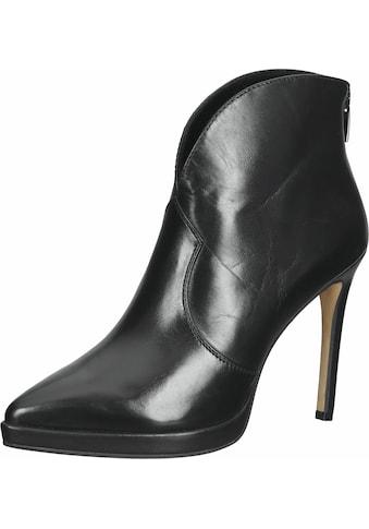 Steven New York High-Heel-Stiefelette »Glattleder« kaufen