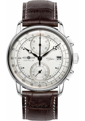 ZEPPELIN Chronograph »100 Jahre Zeppelin, 86701«, made in Germany kaufen