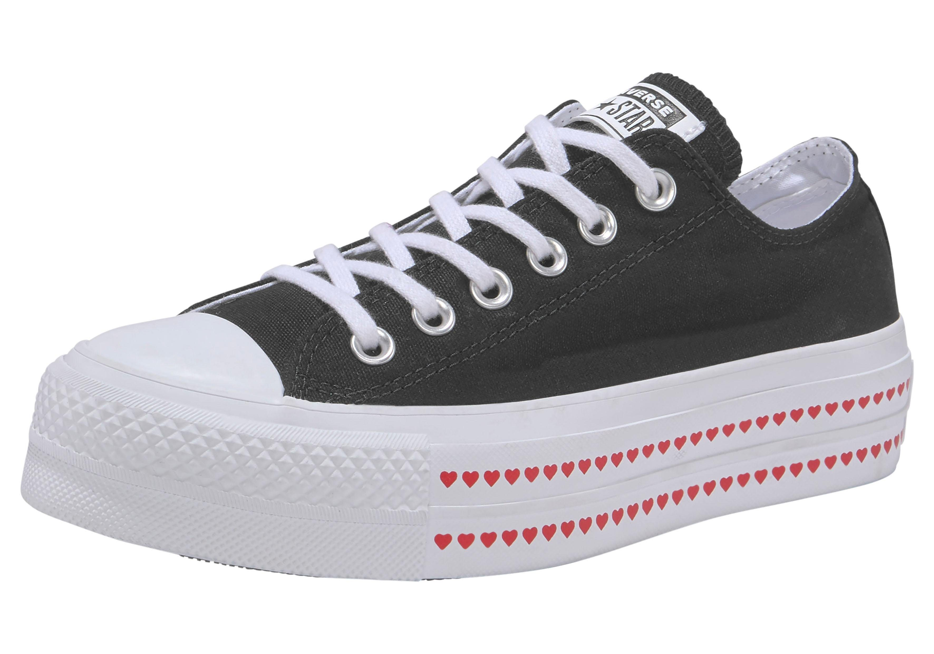 Converse Sneaker Chuck Taylor All Star Lift Ox Love Fearlessly