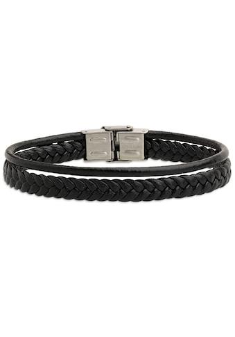 XENOX Armband »LEATHER & MORE, X2594B« kaufen