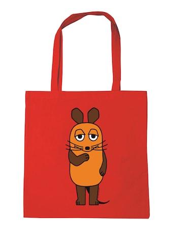 LOGOSHIRT Baumwolltasche mit tollem Printmotiv »Die Maus« kaufen