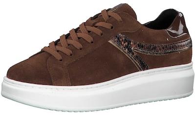 Tamaris Sneaker »Leder/Textil« kaufen