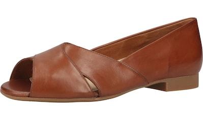 Paul Green Peeptoe-Ballerina »Glattleder« kaufen
