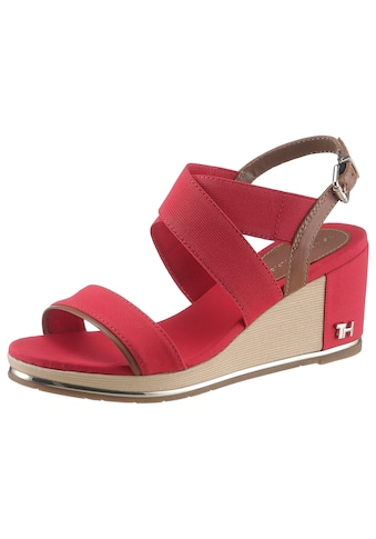 TOMMY HILFIGER Sandalette »TH HARDWARE BASIC MID WEDGE« kaufen