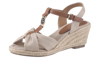 TOM TAILOR Sandalette, mit modischer Raffung kaufen