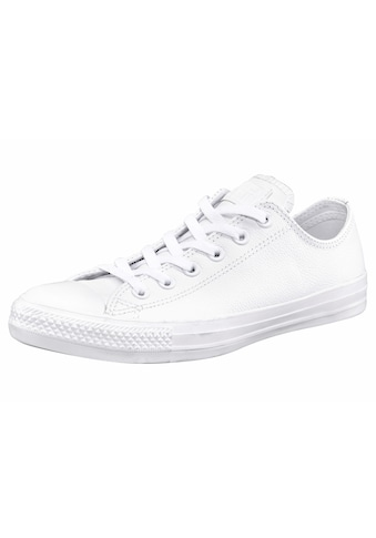 Converse Sneaker »Chuck Taylor Basic Leather Ox Monocrome« kaufen