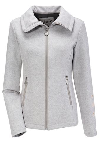 Hangowear Trachtenjacke, Damen mit Edelweiß - Reißverschlussanhänger kaufen