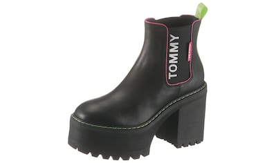 TOMMY JEANS Chelseaboots »CHELSEA CLEATED HEELED BOOT« kaufen