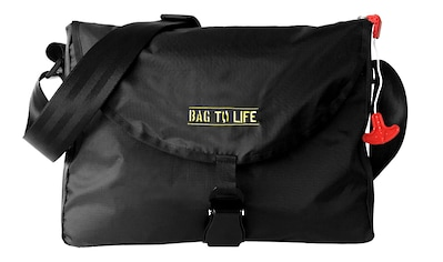 Bag to Life Messenger Bag »Inside Out Bag«, aus recyceltem Material kaufen