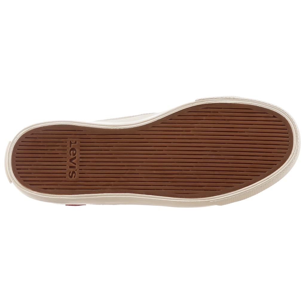 Levi's® Plateausneaker »Squre High S«, mit Logo-Aufnäher auf der Zunge