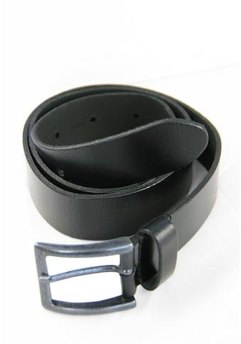 Petrol Industries Ledergürtel im klassischen Design kaufen
