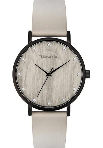 Tamaris Quarzuhr »Alva wood black, TW033« kaufen