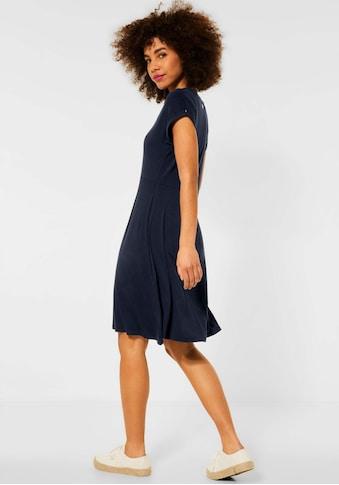 STREET ONE A-Linien-Kleid, einfarbiges Lieblings-Basic kaufen