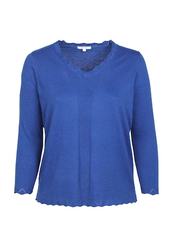Paprika V-Ausschnitt-Pullover »Lange Ärmel«, casual kaufen