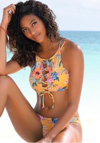 Bench. Bustier-Bikini-Top »Maui«, mit modischer Schnürung kaufen