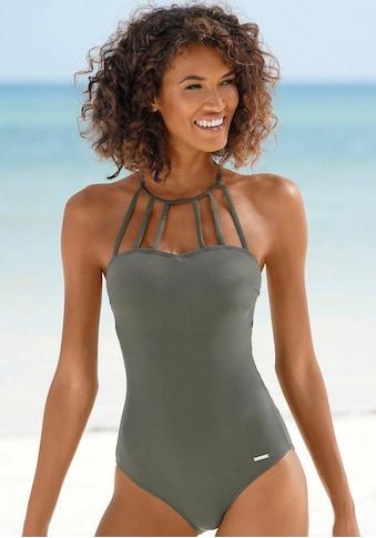 Bruno Banani Badeanzug, mit eleganter Ausschnittvariante kaufen