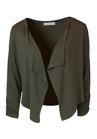 bianca Longsleeve »ISY«, feminines Jersey-Jäckchen mit 3/4 - Arm kaufen