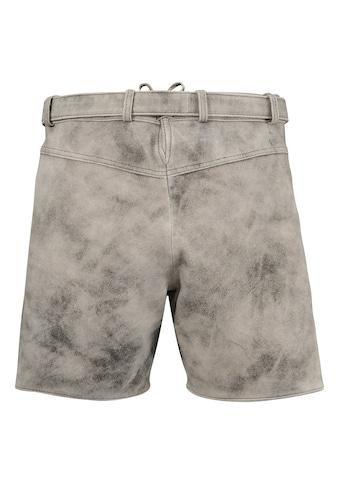 MarJo Trachtenlederhose, im Used-Look aus Ziegenvelousleder kaufen
