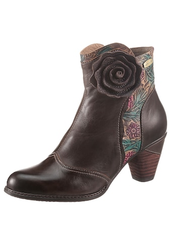 LAURA VITA Stiefelette »ALCIZEEO«, mit eleganter Blüte kaufen