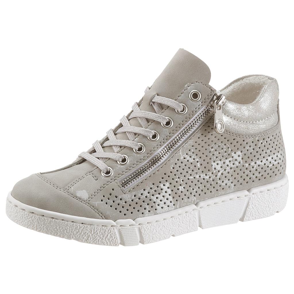 Rieker Sneaker, mit Metallic-Effekt