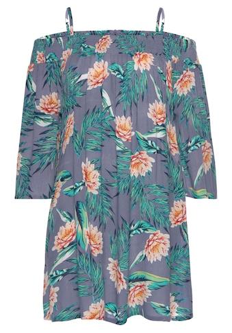 s.Oliver Strandkleid, mit Blumendruck kaufen