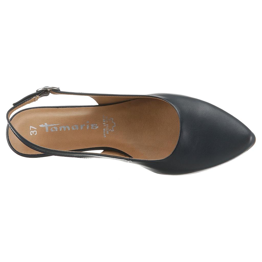 Tamaris Slingpumps »Trina«, in schlichtem Design