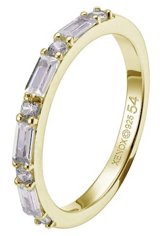XENOX Silberring »HOLLYWOOD, XS1970G/52, XS1970G/54, XS1970G/56, XS1970G/58«, mit... kaufen