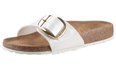 Birkenstock Pantolette »Madrid Big Buckle«, mit ergonomisch geformtem Fußbett,... kaufen