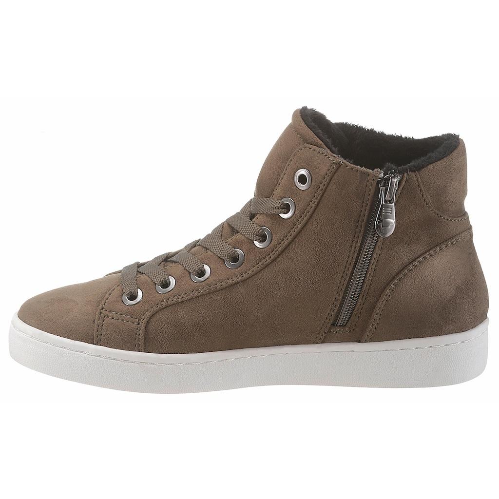 TOM TAILOR Sneaker, in schöner Farbpalette