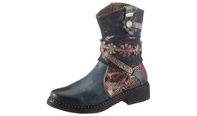 LAURA VITA Cowboy Stiefelette »IDCITEO«, mit schöner Schaftverzierung kaufen