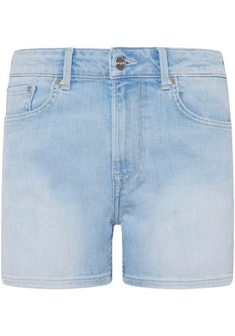 Pepe Jeans Jeansshorts »MARY SHORT«, in enger 5-Pocket-Passform mit seitlichem Schlitz kaufen