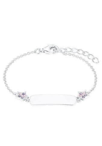 Prinzessin Lillifee Silberarmband »Plakette mit Sternen, 2027217«, mit Zirkonia kaufen