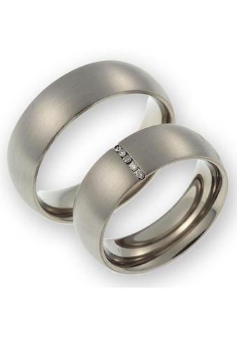 CORE by Schumann Design Trauring »20006166-DR, 20006166-HR, ST044.06«, Made in Germany - wahlweise mit oder ohne Diamanten kaufen