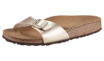 Birkenstock Pantolette »MADRID«, in schmaler Schuhweite kaufen