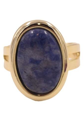 Firetti Fingerring »Edelstein«, Made in Germany - mit Jaspis oder Sodalith kaufen