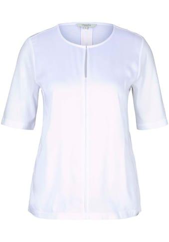 TOM TAILOR mine to five T-Shirt, im modischen Material-Mix kaufen