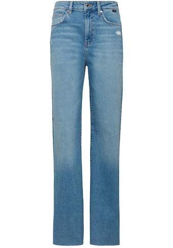 Mavi Bootcut-Jeans »VICTORIA-MA«, Baumwollstretch Denim für hohen Tragekomfort kaufen