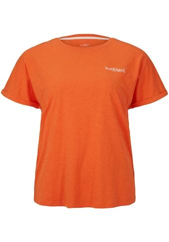 TOM TAILOR MY TRUE ME T-Shirt, mit kleiner Stickerei kaufen