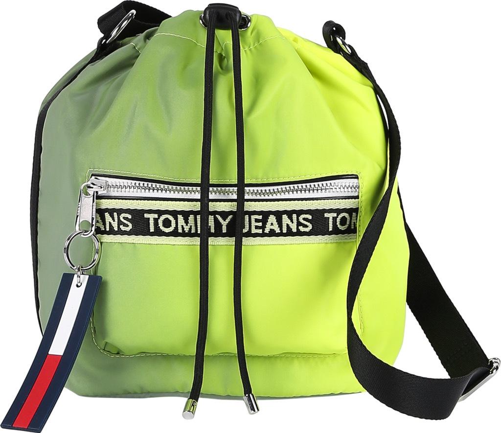tommy jeans -  Beuteltasche Mini Logo Tape, in auffälliger Optik
