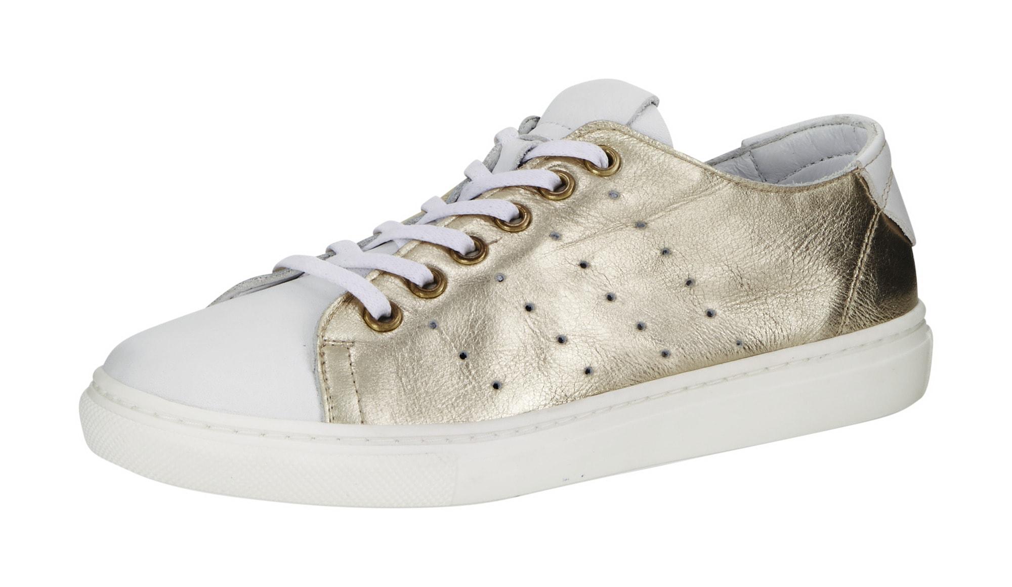 andrea conti - Sneaker in Metallic-Optik