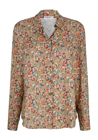 Mona Hemdbluse, mit floralem Druck kaufen