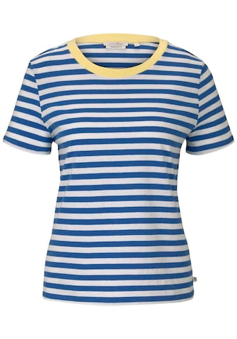 TOM TAILOR Denim T-Shirt, in lässiger Streifen Optik kaufen